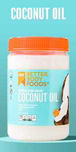 Naturally Refined Organic Coconut Oil