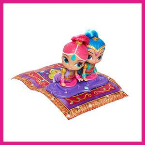 Shimmer and Shine - Alfombra mágica voladora (Mattel FHN22)