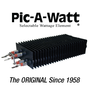 pic-a-watt selectable wattage element