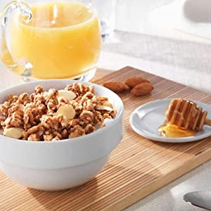 Kashi GO Honey Almond Flax Crunch cereal is made with 13 grams of whole grains