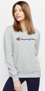Champion crew, champion pullover, champion script, champion script pullover, champion jumper