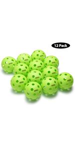 A11N Premium 26 Holes Indoor Pickleball Balls