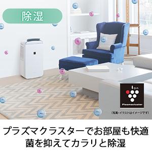 プラズマクラスター コンパクトクール CM-J100 冷風 除湿 衣類乾燥 消臭