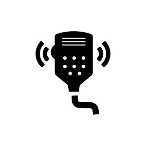 Adjustable Dynamike Boost, CB Radio, Cobra CB Radio, Cobra, Cobra Electronics, Car CB Radio, Car