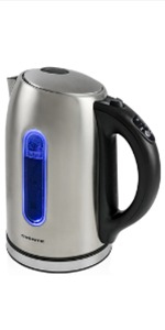 Temperature Control Stainless Steel Cordless Electric Kettle with Keep Warm Function with beep