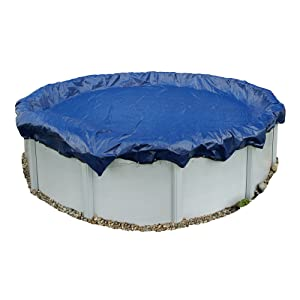 Amazon Com Blue Wave Gold 15 Year 33 Ft Round Above Ground Pool Winter Cover Swimming Pool Covers Garden Outdoor