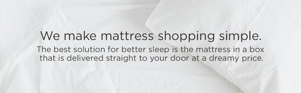 easy mattress shopping