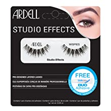 ardell, ardell lashes, ardell studio effects wispies,wispies, studio effects, false lashes, lashes