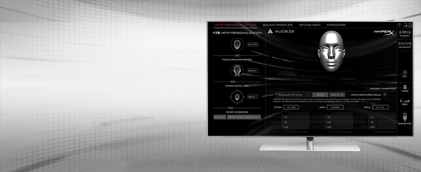 Advanced audio customization