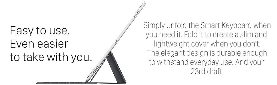 "Apple Ipad Pro Smart connector Keyboard mac 9.7"" 9.7 9.7-inch foldable bluetooth microfibre MM2L2AM/"