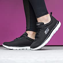 Women's skechers performance sport active comfort lifestyle casual athleisure shoe