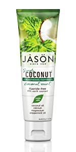 Jason Simply Coconut Strengthening Toothpaste