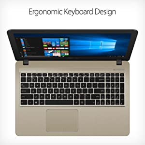 Ergonomic chiclet keyboard