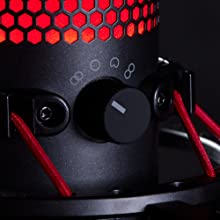 4cae9cad66c Amazon.com: HyperX QuadCast - USB Condenser Gaming Microphone, for ...