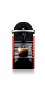 Nespresso DeLonghi Pixie EN124.S Cafetera monodosis ...