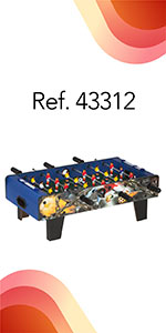 ColorBaby - Futbolín madera sobremesa CBGames (43310): Amazon.es: Juguetes y juegos