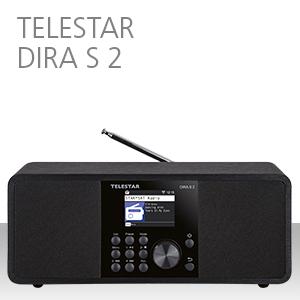DIRA S 2, TELESTAR, Stereo, multifunctionele radio