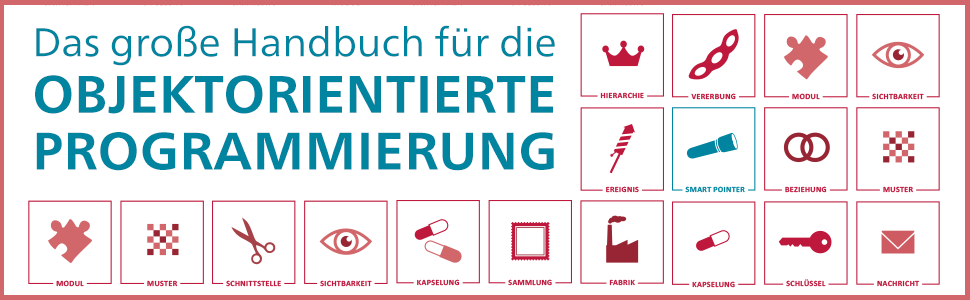 OOP Handbuch Rheinwerk Verlag header
