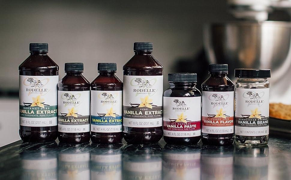 Vanilla, Vanilla Extract, Gourmet Vanilla, Rodelle, Pure Vanilla Extract, Baking, Vanilla Beans