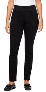 bandolino blu thea pull on legging jegging  jeans