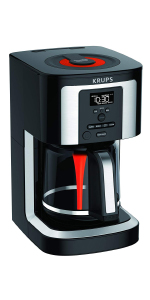 KRUPS coffee maker, coffee maker, grind and brew, drip coffee, coffee maker, brewing, brew