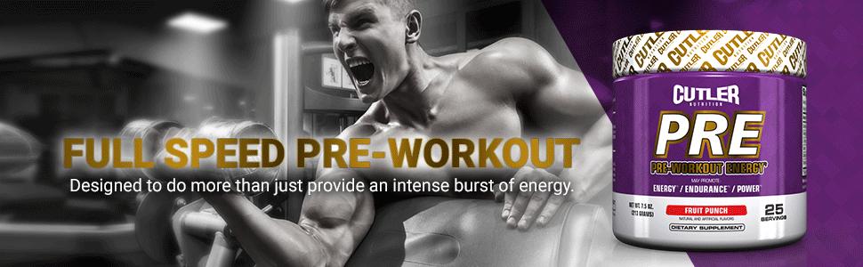 Znalezione obrazy dla zapytania cutler nutrition pre workout energy