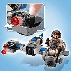 lego star wars 75195 ski speeder vs first order walker microfighters spielzeug. Black Bedroom Furniture Sets. Home Design Ideas