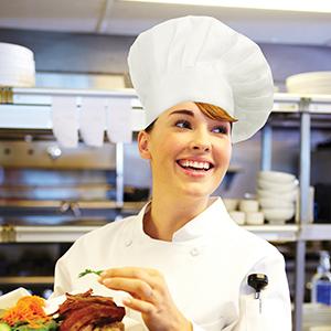 amazon com chef works chef hat black one size clothing rh amazon com chef ramsay chef boyardee