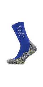 crew socks, running crew socks, compression, compression socks, cushion, compression, reflective