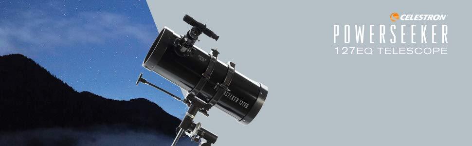 Celestron Powerseeker 127eq Reflektor Teleskop Kamera