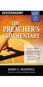 Preacher's commentary volume 5 Deuteronomy