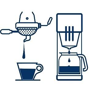 lavazza, espresso, drip, filter