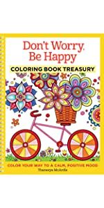 thaneeya coloring books, thaneeya mcardle adult coloring books, ultimate coloring book treasury
