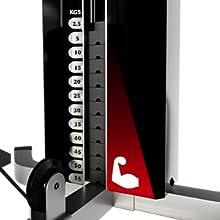 Gesamtgewicht 55 kg