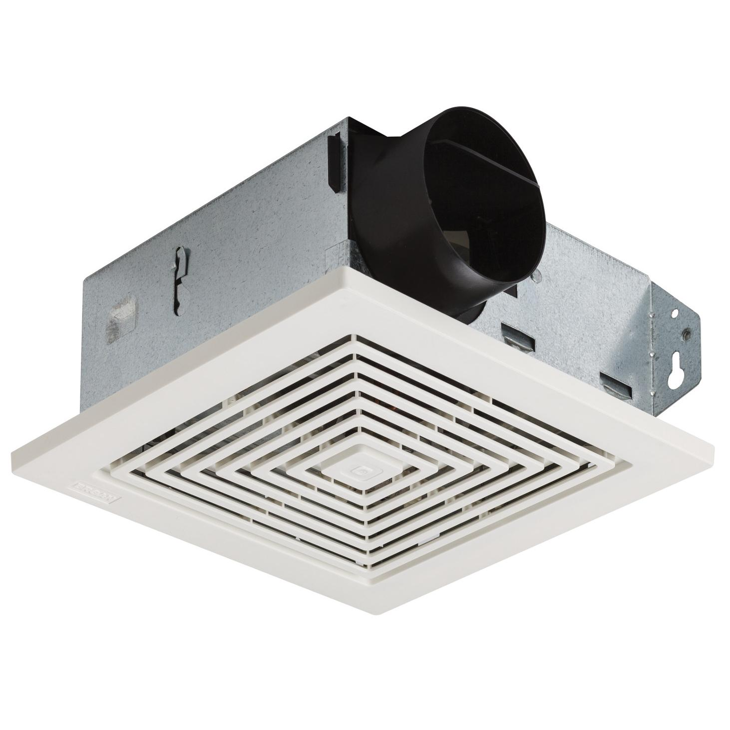 Broan 688 Ceiling And Wall Mount Fan 50 Cfm 40 Sones White Electric Install Page 4 Model Ventilation Grille