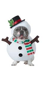 Pet Costume, Dog Costume, Dog Snowman, Santa Pup, Mrs. Claus, Christmas Pet Costume, Snowman Dog