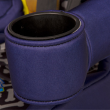 cup holder for snacks and drinks travel cup holder attachment point belt positioning