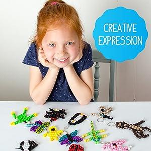 bead, pets, create, design, custom, activity, activity, keychain, easy, fun