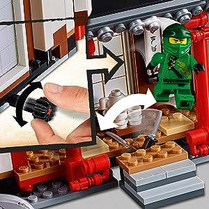 Lego 4 x Kralle Klaue x346 41669 transparent rot 8086 8957 8081 7160