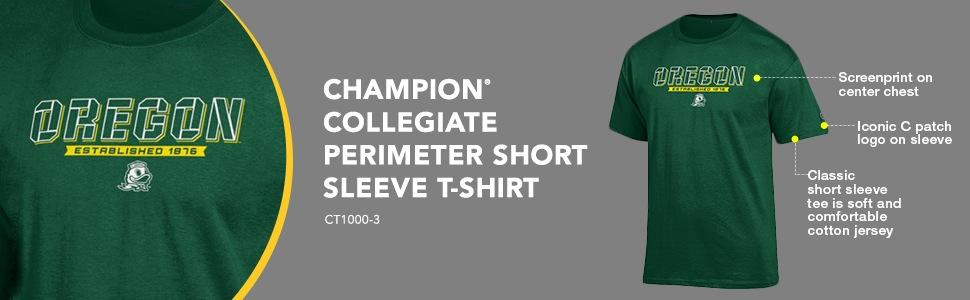 NCAA Champion Perimeter Short Sleeve T-Shirt