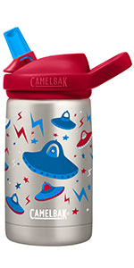 camelbak, eddy kids, kids water bottle, metal water bottle, insulated kids bottle, metal bottle