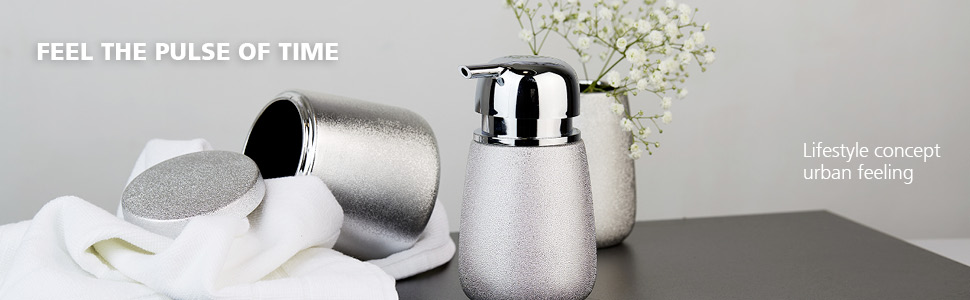WENKO bathroom accessories urban feeling - convince by exquisite materials