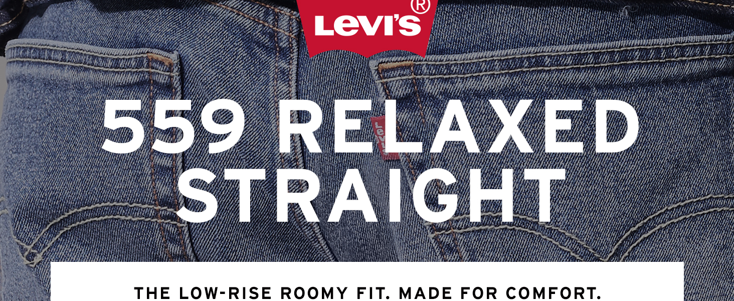 Mens Levis 559 Relaxed Straight Jean