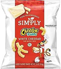 simply cheetos white cheddar puffs healthy alternative no artificial snack