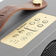 Audio Pro, Addon, C3, Wireless Speaker, Multi-room, Bluetooth. Portable, Scandinavian, Grey, Presets