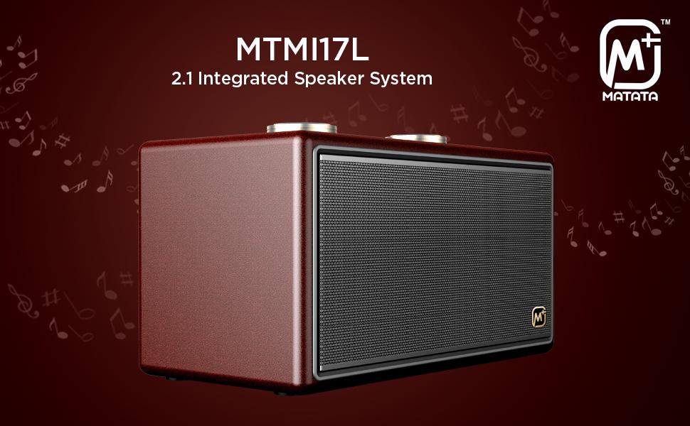 Matata MTMI17L 2.1 Integrated Speaker System