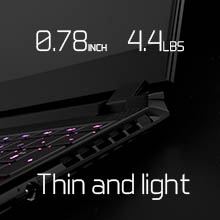 Thin and Light Laptop; lightweight laptop; thin and light gaming