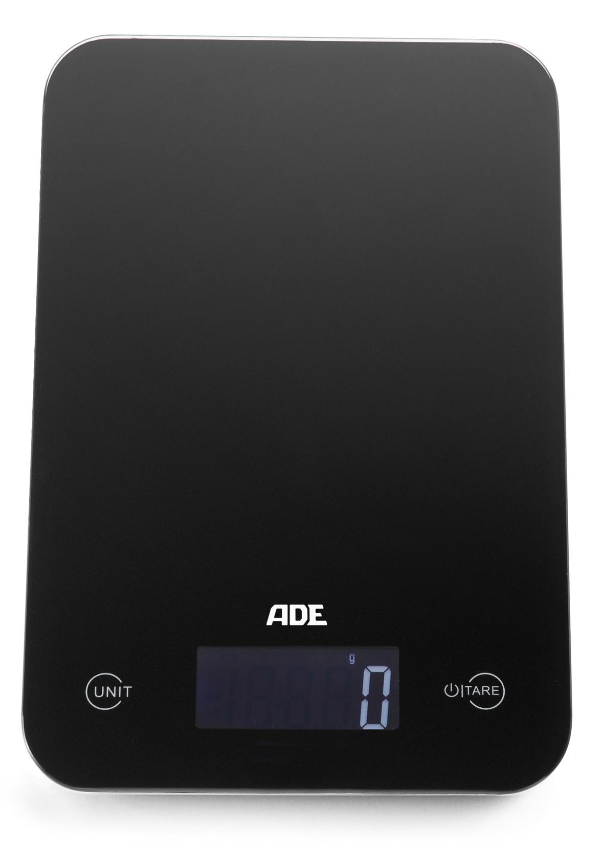 ADE Slim digitale Küchenwaage (Farbe: schwarz): Amazon.de: Küche ...