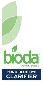 Bioda, Enzyme Powered, Pond, Blue Dye, Clarifier