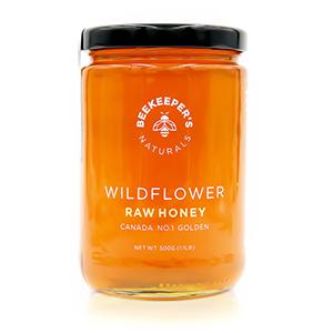 100% pure raw sustainably sourced premium honey Canada Canadian paleo non-gmo gluten-free wildflower